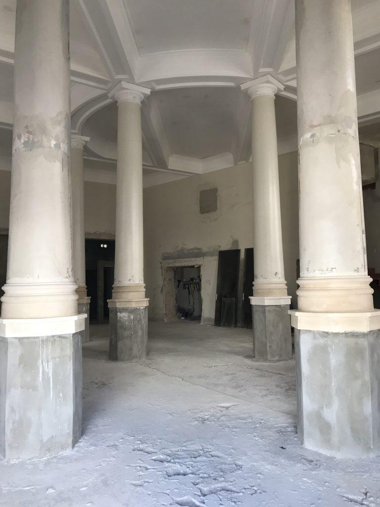 Interior, edificio royal bank
