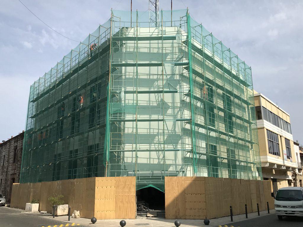 Proceso restauración edificio Naca'n