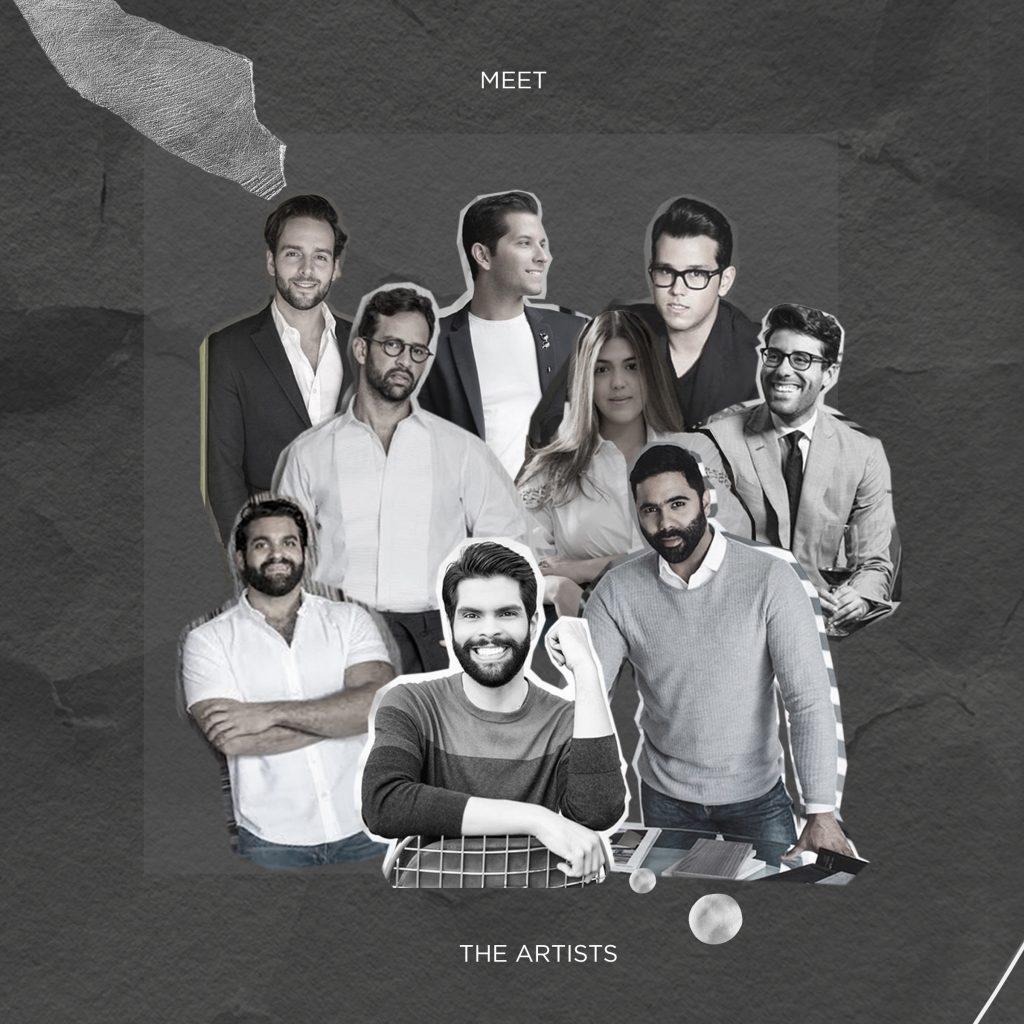 Artistas colaboradores, The Collective.
